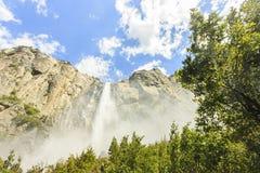 Yosemite waterfall at Yosemite national park Royalty Free Stock Photos