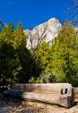 Yosemite Waterfalls in Yosemite National Park,California stock photo