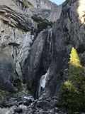 Yosemitedalingen Oktober stock foto