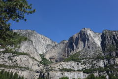 Yosemitevallei - Californië Stock Foto