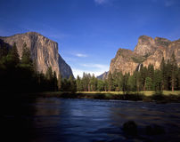 yosemitevalleyview Royaltyfria Bilder