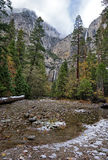 Yosemitewaterval Stock Foto