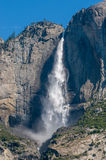 Yosemitewaterval, Californië, de V.S. Royalty-vrije Stock Foto