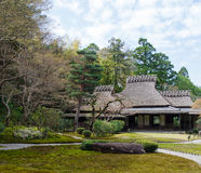 Yoshikien Garden, Nara Stock Photo