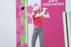 Yoshimi Kohda at  Evian Masters 2010 Stock Photography