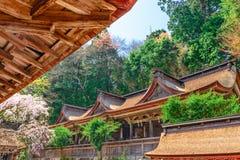 Yoshinoyama Japan Temples Stock Photos