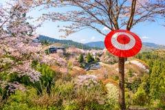 Yoshinoyama, nara, japan Stock Photography