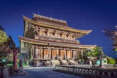 Yoshinoyama, Nara Temple Stock Photography