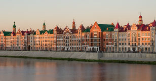 Yoshkar-Ola πόλη Ρωσία Στοκ Εικόνα