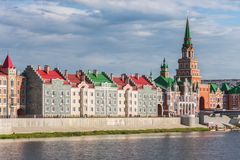 Yoshkar-Ola πόλη Ρωσία Στοκ εικόνες με δικαίωμα ελεύθερης χρήσης