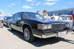 YOSHKAR-OLA, RUSIA, EL 2 DE JUNIO DE 2019: Exposición del auto y de la motocicleta - festival - exposición de la CUMBRE 2019 de Y fotos de archivo