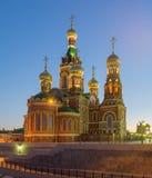 Yoshkar-Ola stad Ryssland Arkivbild