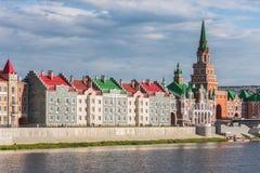 Yoshkar-Ola stad Ryssland Royaltyfria Bilder