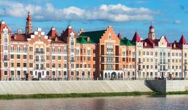 Yoshkar-Ola stad Ryssland Royaltyfri Fotografi