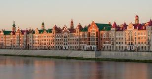 Yoshkar-Olastadt Russland Stockbild
