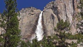 Yosimite瀑布,高部分 股票录像