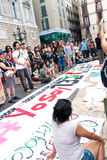 YoSoy132 Barcellona Fotografia Stock