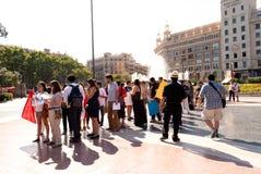 #YoSoy132 Barcelona Stock Image