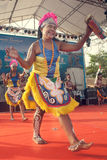 Yospan Dance. Royalty Free Stock Images