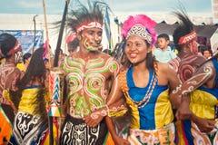 Yospan Dance. Royalty Free Stock Photo