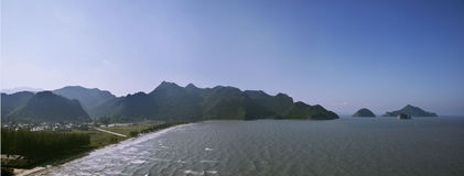 yot roi sam национального парка khao пляжа Стоковые Фото