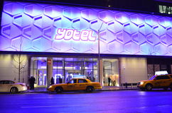 Yotel Hotel - Times Square New York Royalty Free Stock Image