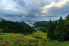 Yotsuya κανένας τομέας χωριών και ρυζιού Semmaida Στοκ εικόνα με δικαίωμα ελεύθερης χρήσης