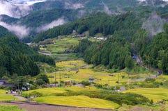 Yotsuya nessun villaggio e risaie di Semmaida Fotografie Stock