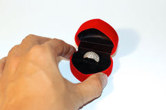 For you. Man propose married royalty free stock photos
