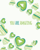 You are amazing Royalty Free Stock Photo