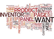 Are You A American Web Page Inventor Word Cloud Concept Stock Photos