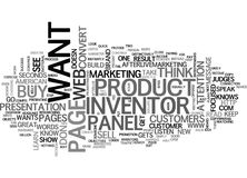Are You A American Web Page Inventor Word Cloud Royalty Free Stock Image