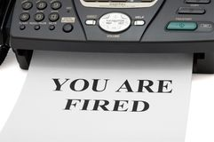 Free You Are Fired Stock Images - 5192174