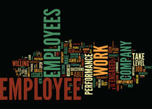 Are You In Awe Of Your Employees Word Cloud Concept Stock Photography