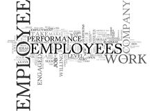 Are You In Awe Of Your Employees Word Cloud Stock Photo