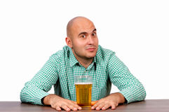 Are you for beer? Royalty Free Stock Images