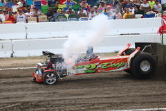When you break your 2wd pulling truck. Bowling Green, OH High Horsepower Pulling Machines Stock Images