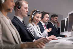 You can call us everytime! Stock Photo