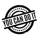 You Can Do It rubber stamp Royalty Free Stock Photos