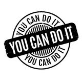 You Can Do It rubber stamp Royalty Free Stock Photo
