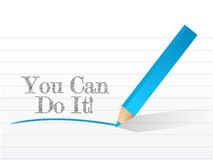 You can do it written Stock Image