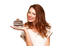 You can have your cake and eat it too Royalty Free Stock Photos