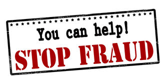 You can help stop fraud Stock Images