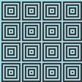 Seamless background with squares and optical illusion Royalty Free Stock Images