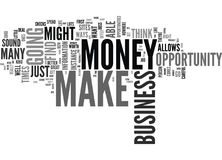 You Can Make Money With An Online Business Opportunity Text Background  Word Cloud Concept. YOU CAN MAKE MONEY WITH AN ONLINE BUSINESS OPPORTUNITY Text Stock Images