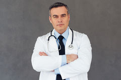 You can rely to this doctor. Royalty Free Stock Photography