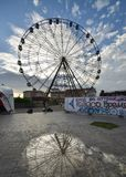 Ferris wheel at Sochi stock images