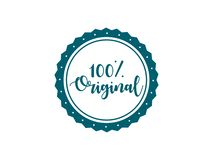 100% original stamp vector design stock illustration