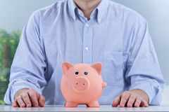 You can't push back savings Stock Image