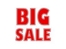 Big sale posts for your promotions and sales royalty free illustration
